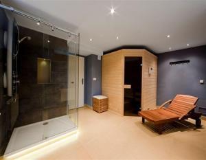 Ein Badezimmer in der Unterkunft Penzion Blanko