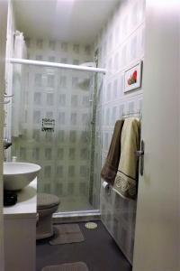 A bathroom at Lugar todo no Centro I-Próx. a Santa Casa e UFRGS
