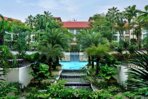 A view of the pool at Treetops Executive Residences (SG Clean) or nearby