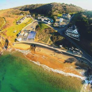 A bird's-eye view of The Prince Of Wales Hotel