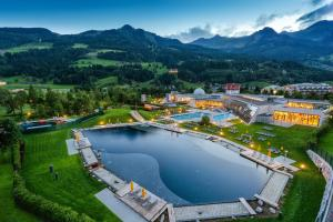 A bird's-eye view of Hotel Norica - Thermenhotels Gastein