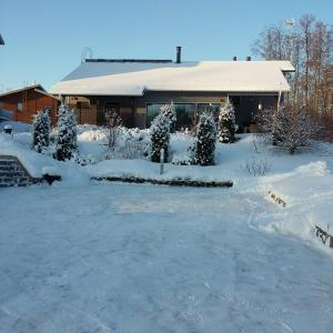 Villa Graniitti during the winter