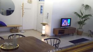 A television and/or entertainment center at Casa Robusto