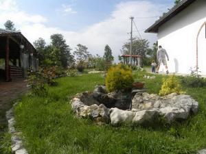 Vrt ispred objekta Panorama Lomnica