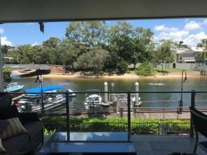 A view of the pool at Jacaranda Noosa or nearby