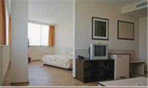 Телевизия и/или развлекателен център в Хотел Атаген
