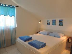 Krevet ili kreveti u jedinici u objektu Apartments Svi-mi