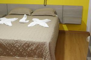 Cama o camas de una habitación en Hotel Sotelo