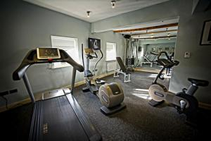 The fitness center and/or fitness facilities at Ye Olde Bell Hotel & Spa