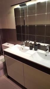 A bathroom at Apartamento Mataro