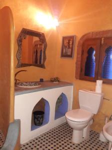 A bathroom at Dar Gabriel