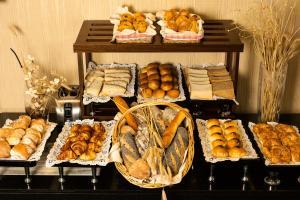 Comida no hotel ou em algum lugar perto