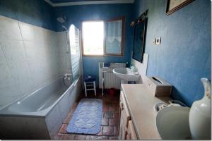 A bathroom at Chez Camille