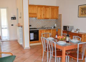 Küche/Küchenzeile in der Unterkunft Appartamento Bella Isola