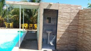 The swimming pool at or near Hotel Lagoa Azul