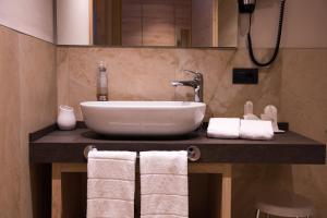 Koupelna v ubytování Francesin Active Hotel