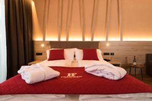 Postel nebo postele na pokoji v ubytování Francesin Active Hotel