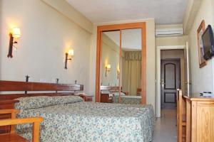 Cama o camas de una habitación en Al Sur de Chipiona