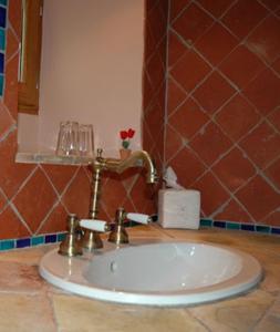 Salle de bains dans l'établissement Mas Bella Cortis