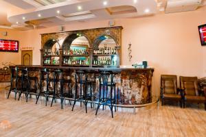 Лаундж или бар в Гостиница Сайран