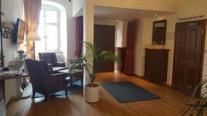 Lobby/Rezeption in der Unterkunft Hotel Goldener Adler