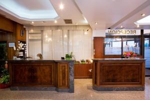 The lobby or reception area at Hotel Marivella