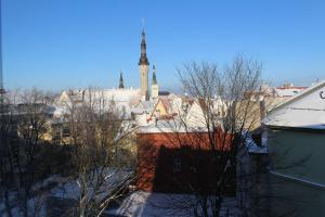 Tallinn City Apartments Old Town Suites during the winter