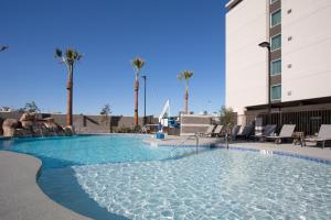 The swimming pool at or near Homewood Suites By Hilton Las Vegas City Center