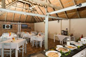 A restaurant or other place to eat at St. Lucia Safari Lodge