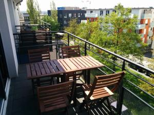 A balcony or terrace at Rooftop Luxembourg Ville