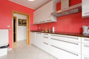 A kitchen or kitchenette at Rooftop Luxembourg Ville