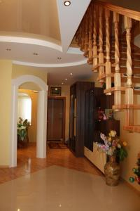 The lobby or reception area at Bungalow na Bannom