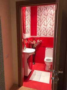 Ванная комната в Bungalow na Bannom