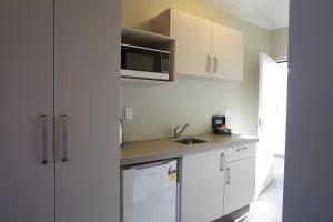 Een keuken of kitchenette bij Stumpers