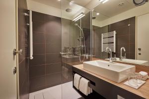 Ein Badezimmer in der Unterkunft Hyperion Hotel Hamburg
