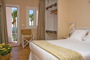 Cama o camas de una habitación en Wawa Tarifa