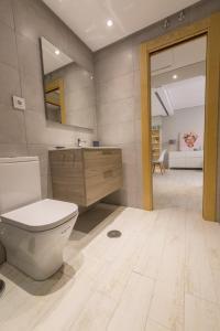 A bathroom at Apartamentos Inloft