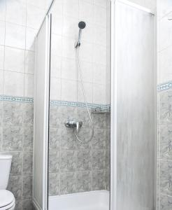 Łazienka w obiekcie Amicus Żoliborz