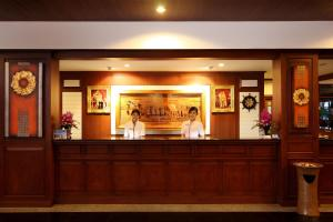 The lobby or reception area at Best Western Premier Bangtao Beach Resort & Spa