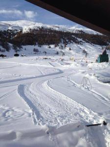 Baita Stella Alpina v zimě