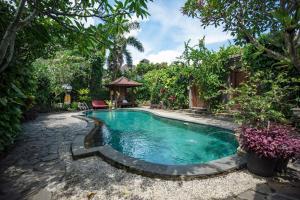 The swimming pool at or near Ladera Villa Ubud