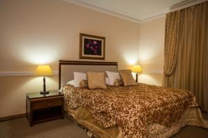 Un ou plusieurs lits dans un hébergement de l'établissement Hotel BEK