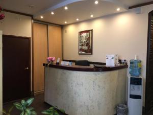 Лобби или стойка регистрации в Спа Отель Лотос