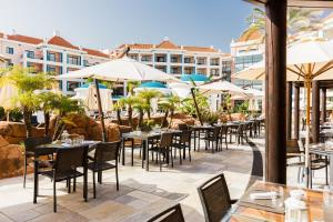 A restaurant or other place to eat at Hilton Vilamoura