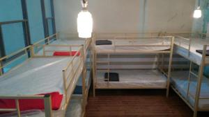 A bunk bed or bunk beds in a room at Apartment in the Forest