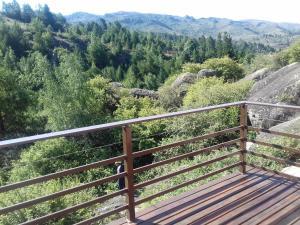 Un balcón o terraza en Casa en La Cumbrecita