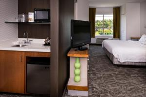 A television and/or entertainment center at SpringHill Suites Pittsburgh Southside Works