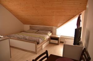 Postel nebo postele na pokoji v ubytování Ubytování Pálavská Riviéra