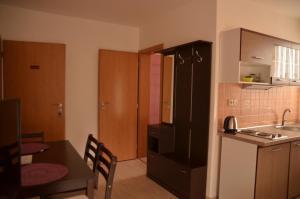 Kuchyň nebo kuchyňský kout v ubytování Ubytování Pálavská Riviéra
