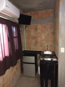 A kitchen or kitchenette at Posada Don Jose
